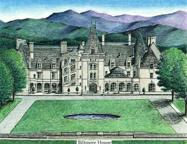 Biltmore House, by Lee James Pantas