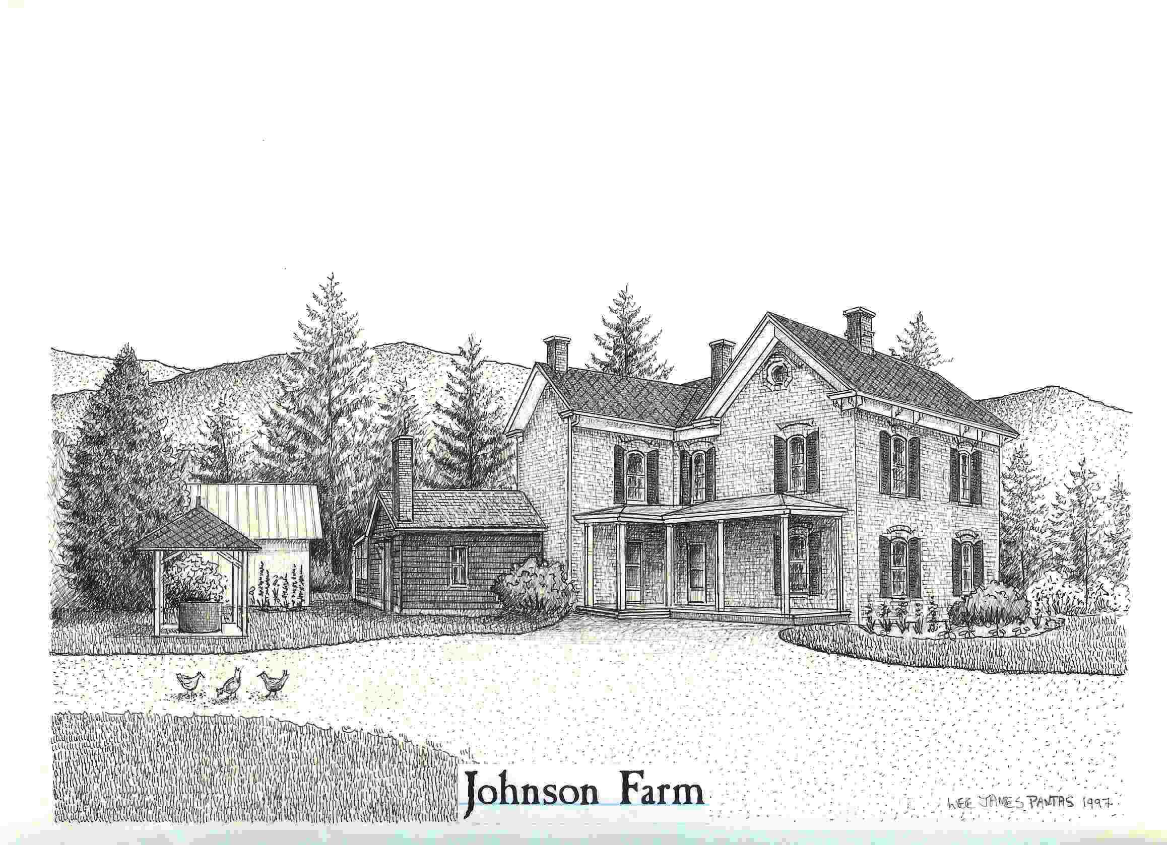 Farm house drawings for How to draw a farmhouse